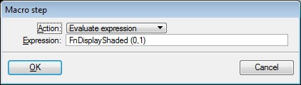 EvaluateExpression FnDisplayShaded On