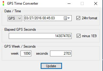 GPS Time Converter Executable
