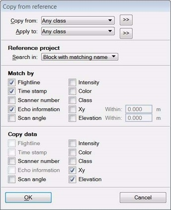Copy from Reference Dialog