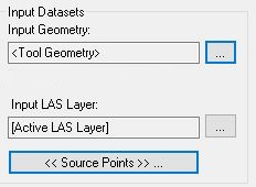 Specify Input Geometry to use Tool Geometry (if the option is available for that task)
