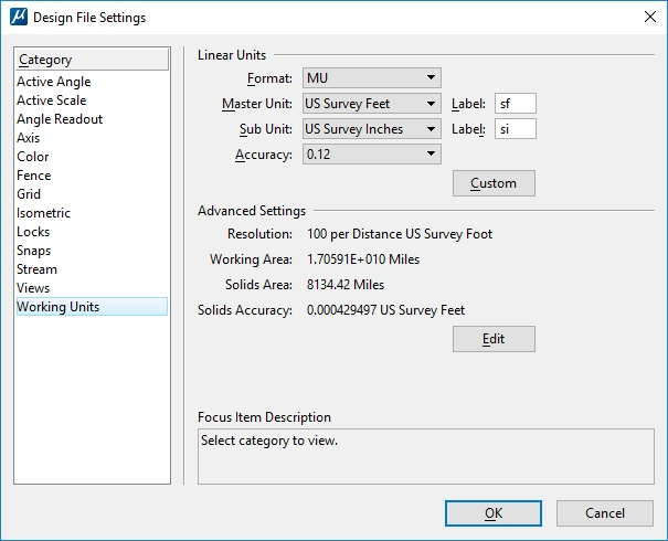 Specify units when writing out ECWs and GeoTIFFs - GeoCue Group